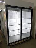 Холодильный шкаф холодильник б у Случь 1400 ВСн (двери купе) Интэко-Мастер, фото 4