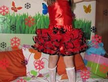 Пышная юбка из фатина с воланами, фото 2
