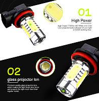 Дневные ходовые габаритные огни LED лампа H11(Н8,Н9), ПРОТИВОТУМАНКИ