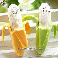 "Ластик (стерачка для карандашей) - ""Banana"" - 4 шт."