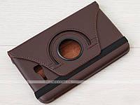 Поворотный чехол для Samsung Galaxy Tab 3 Lite 7.0 SM-T110, T111, T113, T116 Brown