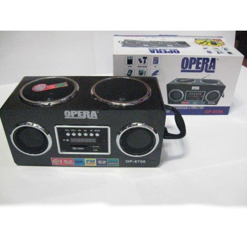 Радиоприемник — портативная акустика Opera OP-8706   f