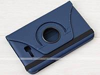 Поворотный чехол для Samsung Galaxy Tab 3 Lite 7.0 SM-T110, T111, T113, T116 Navy Blue