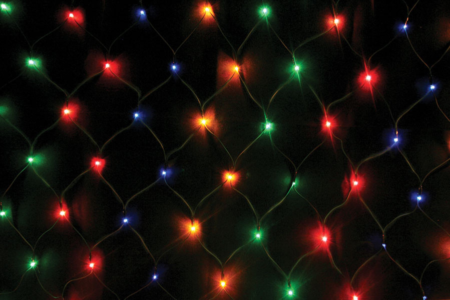 Гирлянда Сетка светодиодная 160 led мульти 2х1м