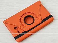 Поворотный чехол для Samsung Galaxy Tab 3 Lite 7.0 SM-T110, T111, T113, T116 Orange
