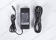 Блок питания DELL 20V, 4.5A, 90W, 3pin, black + сетевой кабель питания