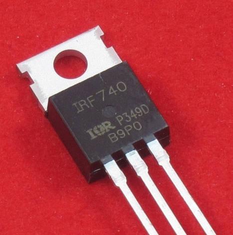 Транзистор IRF740 TO-220, фото 2