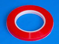 Скотч двухсторонний (прозрачный) 10мм (намотка 25м)