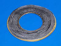 Скотч двухсторонний (черный) 1мм (намотка 50м)