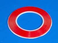 Скотч двухсторонний (прозрачный) 3мм (намотка 25м)