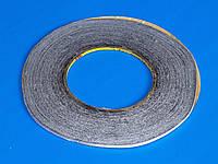 Скотч двухсторонний (черный) 3мм (намотка 50м)