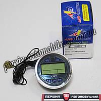 Часы электронные с вольтметром и термометром под штатное место ВАЗ 2101-06 (Авто-Электрика)