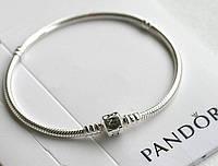 PANDORA Серебрянный браслет-основа  S 925 ALE, классический, ОРИГИНАЛ