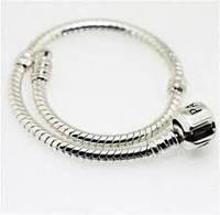 Пандора PANDORA Серебрянный браслет-основа S 925 ALE, классический, реплика