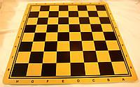 Доска двухсторонняя для игры в шахматы, шашки, нарды 44 см
