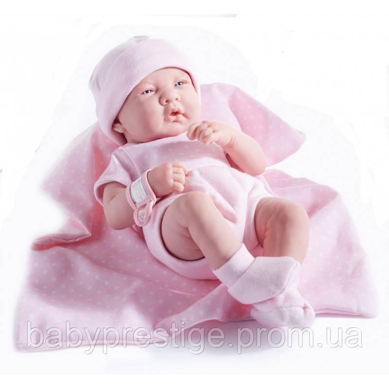 Новорожденная девочка Berenguer в розовом, 36 см