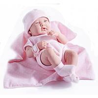 Новорожденная девочка Berenguer в розовом, 36 см, фото 1