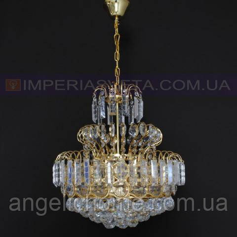 Люстра хрустальная с подвесками IMPERIA двенадцатиламповая LUX-456512