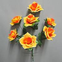 Роза баккара (7 голов) букет искусственный