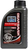 Мото масло трансмиссионное Bel-Ray Gear Saver Trans Oil 75W 1л