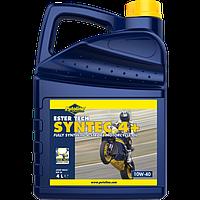 Масло моторное синтетическое для мотоциклов Putoline Ester Tech Syntec 10W40, 4л