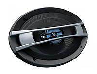 Бюджетная акустика в авто TS 6926, 3 полосы, импенданс 4 Ом, 15х23 см, UKC