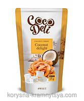 Кокосовые чипсы Сладкие, CocoDeli. 30гр