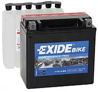 Мото аккумулятор Exide ETX14-BS = YTX14-BS 12 Ah 200 A