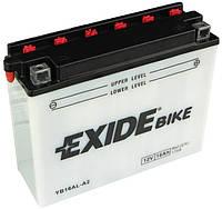 Мото аккумулятор Exide EB16AL-A2 = YB16AL-A2