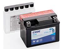 Мото аккумулятор Exide ETX4L-BS = YTX4L-BS