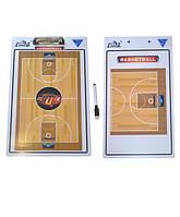 Планшетка тренерская доска  (волейбол,баскетбол,футбол), с тактической доской, на магнитной основе