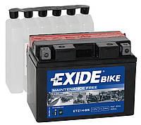 Мото аккумулятор Exide ETZ14-BS = YTZ14-BS