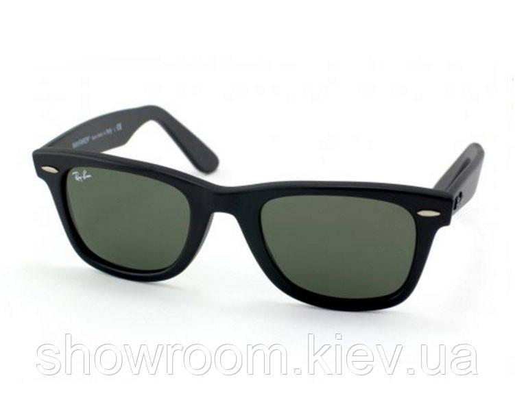 Мужские солнцезащитные очки в стиле RAY BAN Wayfarer 2140-901 LUX
