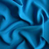 Ткань габардин - цвет голубой
