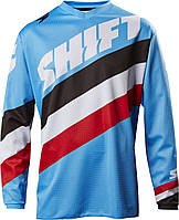 Мото джерси SHIFT WHIT3 TARMAC JERSEY [BLU], XL