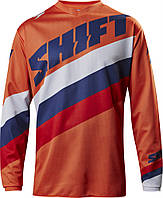 Мото джерси SHIFT WHIT3 TARMAC JERSEY [ORG], XL