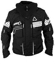 Мото куртка LEATT GPX W.E.C. jacket черно-белая, 2X