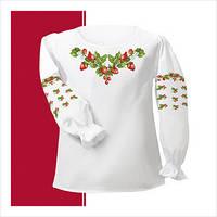Заготовка сорочки-вышиванки для девочки (размер 30-34)