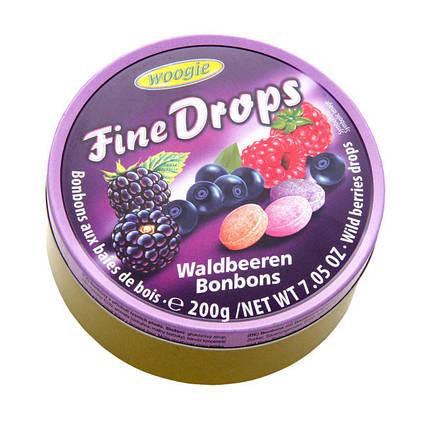 Леденцы Fine Drops Woogie со вкусом лесных ягод, 200 гр, фото 2
