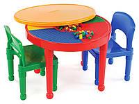 Игровой стол для LEGO 2 в 1, круглый