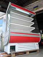 Холодильная горка Технохолод Аризона 1,5 м. б/у, холодильный регал б у, горка холодильная б у, регал б у., фото 1
