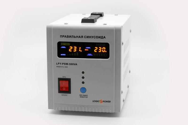 Инвертор для котла LogicPower LPY-PSW-500VA+ чистый синус