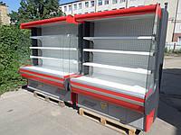 Холодильная горка Mawi б/у, Регал холодильный б у, холодильный стеллаж б/у., фото 1