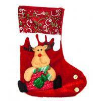 Новогодний носок «Олень»
