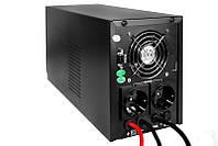 Бесперебойник LogicPower LPM-PSW-1500VA - ИБП (24В, 1050Вт) - инвертор с чистой синусоидой, фото 2