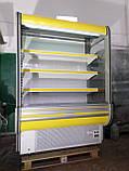 Холодильні гірки б/у, холодильний регал Cold R-14 б, пристінні вітрини гастрономічні, холодильна гірка, фото 2