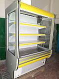 Холодильні гірки б/у, холодильний регал Cold R-14 б, пристінні вітрини гастрономічні, холодильна гірка, фото 4