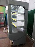 Холодильні гірки б/у, холодильний регал Cold R-14 б, пристінні вітрини гастрономічні, холодильна гірка, фото 5