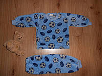 Пижама махровая (вел-софт) р92 для мальчиков