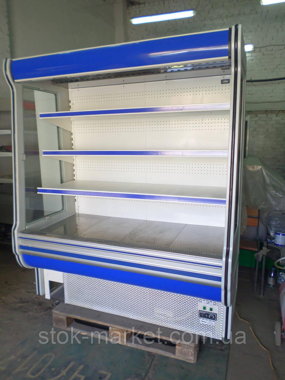 Холодильная горка холодильный регал холодильный стеллаж Сold R16